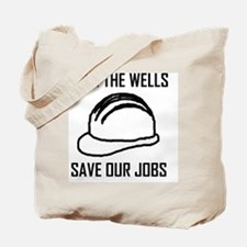 save the wells Tote Bag