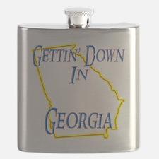 Georgia - Gettin Down Flask