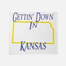 Kansas - Gettin Down Throw Blanket
