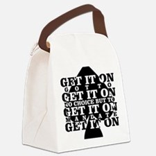 get it on Canvas Lunch Bag