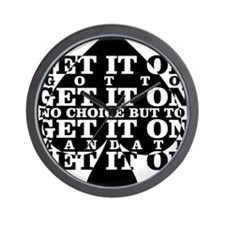 get it on Wall Clock