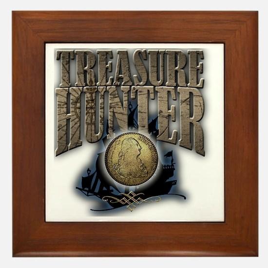 Treasure Hunter2 Framed Tile