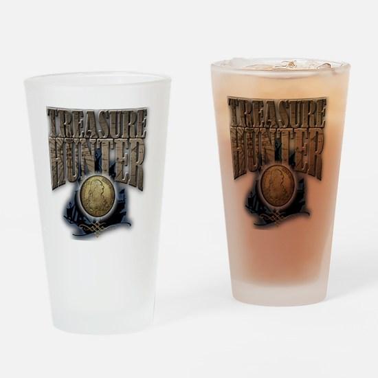 Treasure Hunter2 Drinking Glass