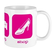 2-Eat Sleep Shop Mug
