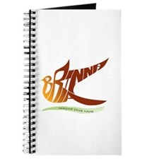 Brianna gold bird Journal