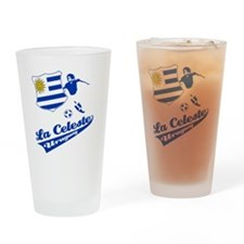 soccer player designs Drinking Glass
