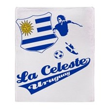 soccer player designs Throw Blanket