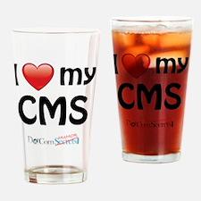 i-heart-cms-02 Drinking Glass