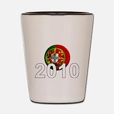 Portugal Football2Bk Shot Glass