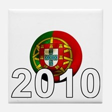 Portugal Football2Bk Tile Coaster