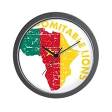 african soccer designs Wall Clock