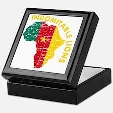 african soccer designs Keepsake Box