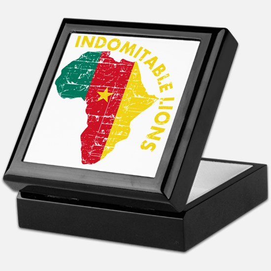 african soccer designs Keepsake Box