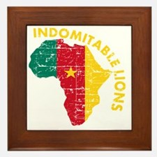 african soccer designs Framed Tile