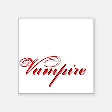 """likeavampire2 Square Sticker 3"""" x 3"""""""
