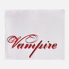 likeavampire2 Throw Blanket