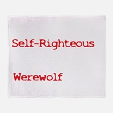 selfrighteous2 Throw Blanket