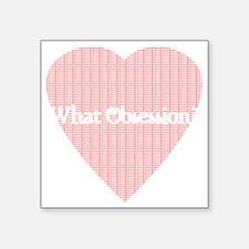 """Obsession Square Sticker 3"""" x 3"""""""