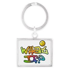 What-If Landscape Keychain
