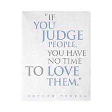 If_you_judge_people_2_dark Twin Duvet