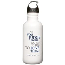 If_you_judge_people_2_ Water Bottle