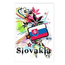 flowerSlovakia1 Postcards (Package of 8)