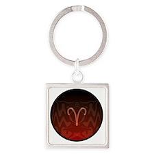 z-01 Square Keychain