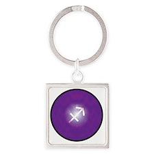 z-09 Square Keychain