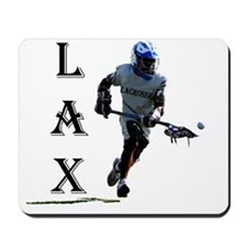 Lacrosse player for logo generic designs Mousepad