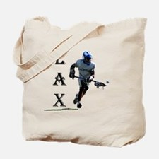Lacrosse player for logo generic designs Tote Bag