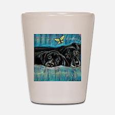 paintingdeniserevised Shot Glass
