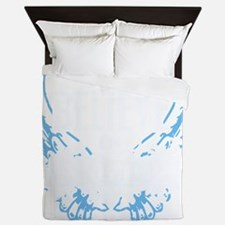 ibia07_dark Queen Duvet