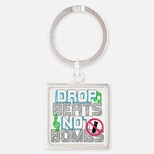 DBNbombs Square Keychain