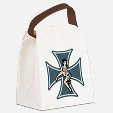 mall-tease-cross-T Canvas Lunch Bag