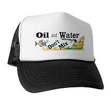 oil and water bumper Trucker Hat