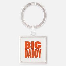 bigdaddy2 Square Keychain
