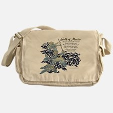 The Turtle and The Dolphin Messenger Bag