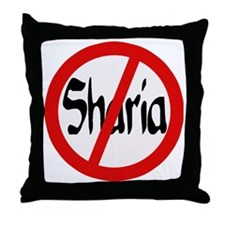 no shariat Throw Pillow