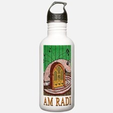 2-HAM RADIO greeting c Water Bottle
