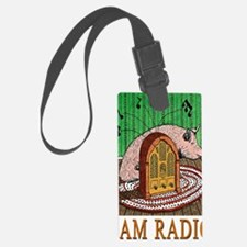 2-HAM RADIO greeting card Luggage Tag