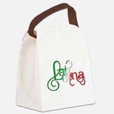 Proud to be a Latina! Canvas Lunch Bag