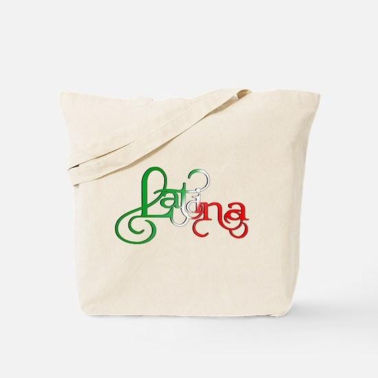 Proud to be a Latina! Tote Bag