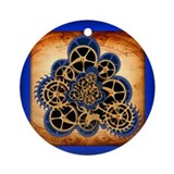 Steampunk Round Ornaments