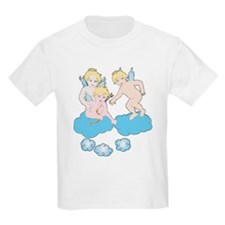 Angels on Clouds Kids T-Shirt
