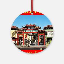 chinatownla Round Ornament