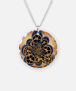 Dreamspell Steampunk greetin Necklace