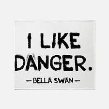 danger Throw Blanket