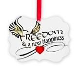 Freedom Picture Frame Ornaments
