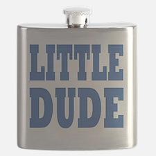 Little DUDE blue 2 Flask