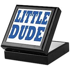 Little DUDE blue 2 Keepsake Box